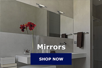 ReplacementGlassco Replacement Tempered Ceramic Mirrored Glass - Custom cut ceramic tile