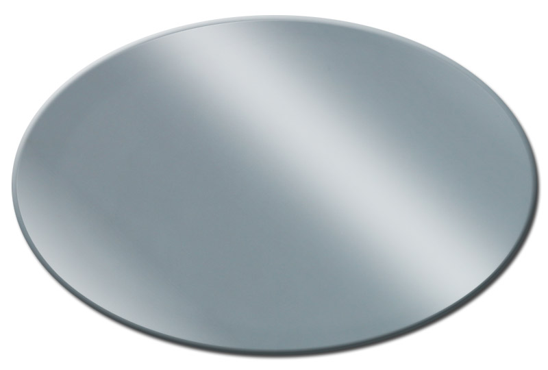 Custom Oval Mirror Glass by Elite Custom Glass