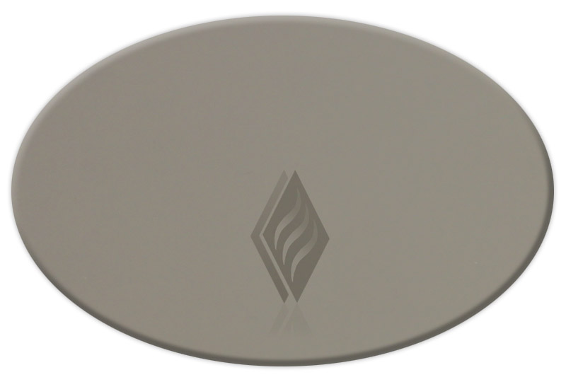 Bronze Elliptical Oval Tempered Replacement Gla